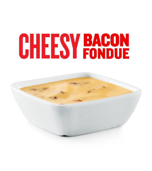 CHEESY BACON FONDUE